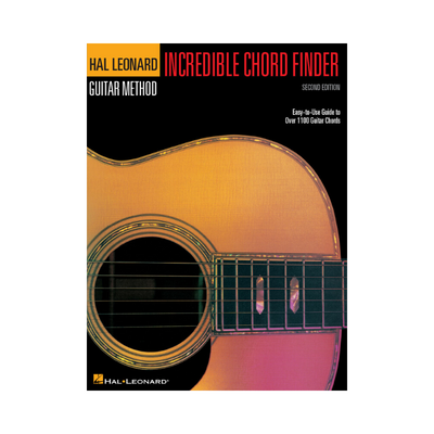 HAL LEONARD GUITAR METHOD INCREDIBLE CHORD FINDER