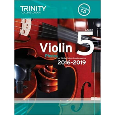 Trinity: Violin Pieces for Trinity College London Exams Grade 5 (with CD)