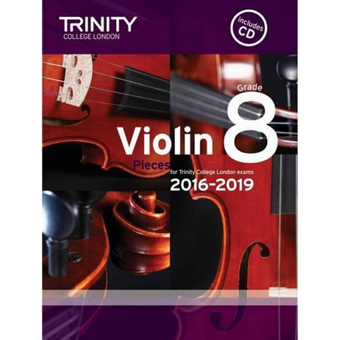 Trinity: Violin Pieces for Trinity College London Exams Grade 8 (with CD)