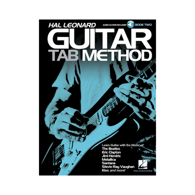 HAL LEONARD GUITAR TAB METHOD - BOOK TWO