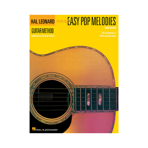 HAL LEONARD GUITAR METHOD MORE EASY POP MELODIES – THIRD EDITION