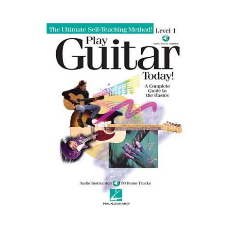 PLAY GUITAR TODAY! SONGBOOK - THE ULTIMATE SELF-TEACHING METHOD - LEVEL 1