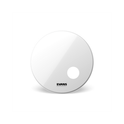 "Evans 20"" Smooth White Bass Drumhead BD20RSW"