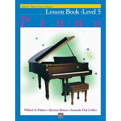 Alfred's Basic Piano Library Lesson Book Level 5