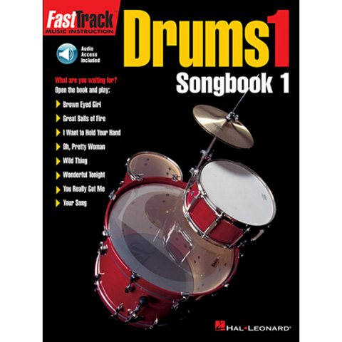 FastTrack Drums Songbook 1 Level 1