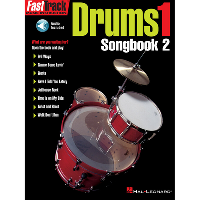 FastTrack Drums Songbook 2 Level 1