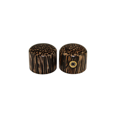 Tigerwood Knobs - PK-3196-000 Set of 2