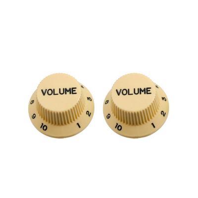 Plastic Volume Knobs for Stratocaster PK-0154-050 Set of 2