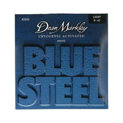 Dean Markley nickel Blue Steel Electric 2552 Light .009-.042