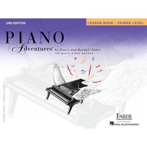 Piano Adventures 2nd Edition Lesson Book Primer Level