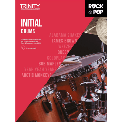 Trinity: Rock & Pop 2018 Drums Initial