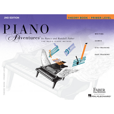 Piano Adventures 2nd Edition Theory Book Primer Level