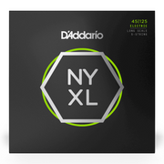 D'addario NYXL45125, Set Long Scale, Light Top / Med Bottom, 5-String, 45-125