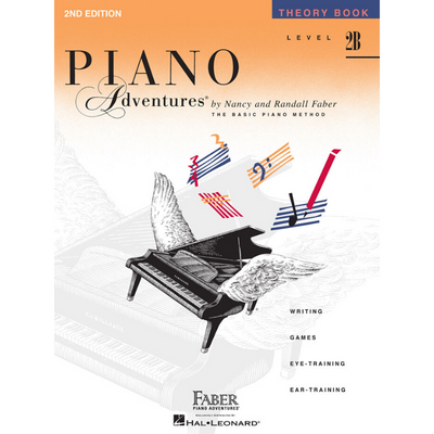 Piano Adventures 2nd Edition Theory Book Level 2B