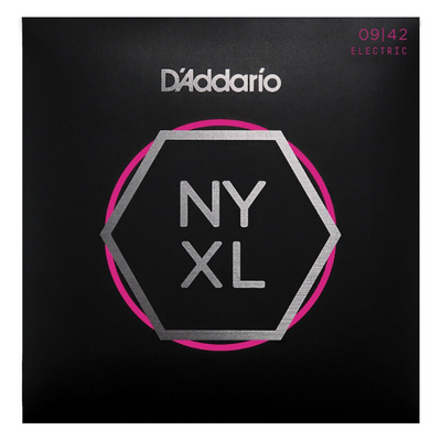 D'Addario NYXL0942 Super Light Strings (9/42) Electric