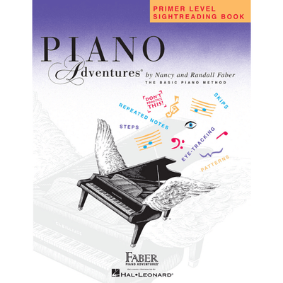 Piano Adventures Sightreading Book Primer Level