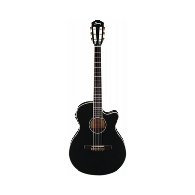 Ibanez AEG10NII Electro-Acoustic Nylon Strung Guitar in Black