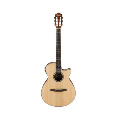 Ibanez AEG10NII Electro-Acoustic Nylon Strung Guitar in Natural High