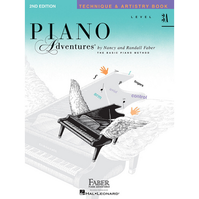 Piano Adventures 2nd Edition Technique & Artistry Book Level 3A