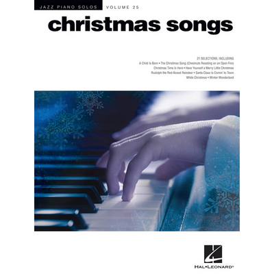 Christmas Songs: Jazz Piano Solos Volume 25