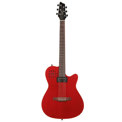 Godin A6 Ultra Trans Red HG 036196