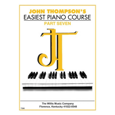 John Thompson's Easiest Piano Course Part Seven