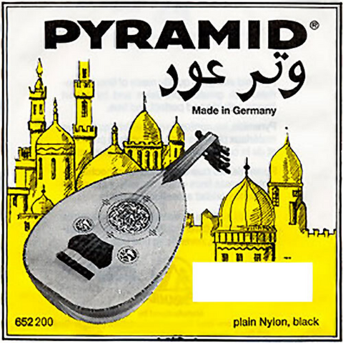 Pyramid  Yellow Label - Aoud 652000 with 3rd wound, Plain Nylon Black