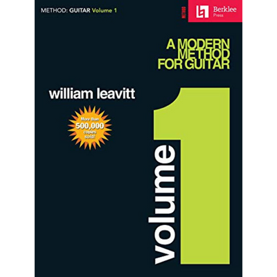 A Modern Method for Guitar by William Leavitt