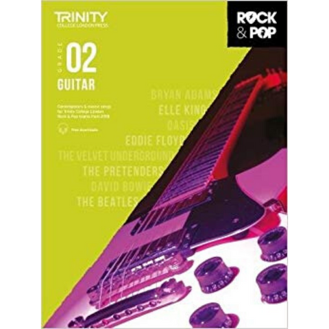 Trinity: Rock & Pop 2018 Guitar Grade 2