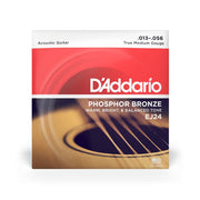 D'Addario EJ24 Phosphor Bronze Strings True Medium, 13-56