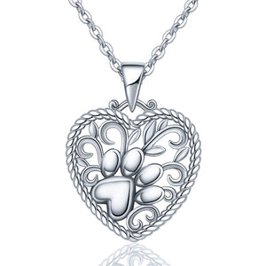 "Halskette ""Print in your heart"" 925 Silber"