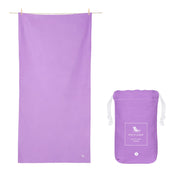 microfiber travel towels purple quick dry towel with pouch