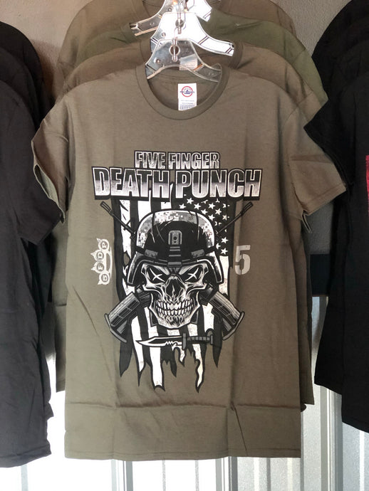 Five Finger Death Punch Metal Tee
