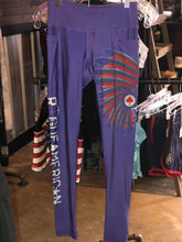 Load image into Gallery viewer, Purple Midnight Scalper Pocket Leggings