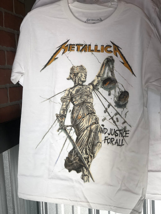Metallica And Justice For All Metal Tee