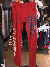 Load image into Gallery viewer, Red Midnight Scalper Pocket Leggings Size 2