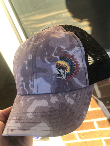Apache Purple Camo Hat