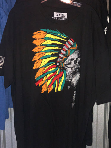 Invader Chief Tee Sizes 2X-3X