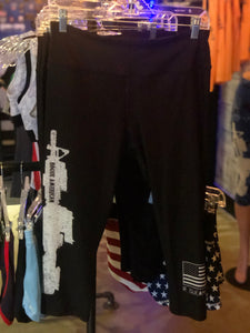 Ar-15 Capri Leggings