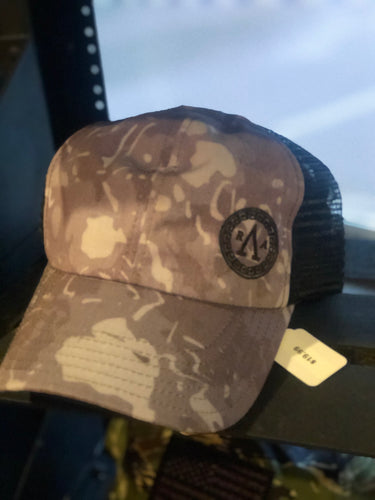 Shield Purple Camo Hat