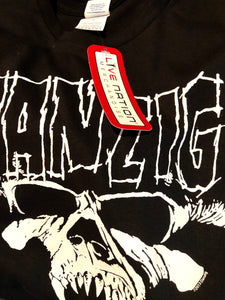 Danzig Metal Tee Size Medium