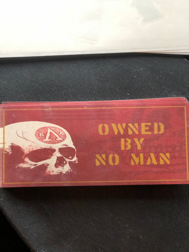 Owned by No Man Sticker