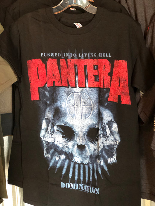 Pantera Domination Metal Tee