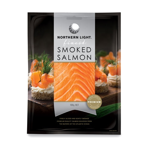 Northern Light Smoked Salmon 100g