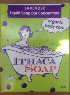 Liquid Soap Bar Concentrate Ⓡ Lavender