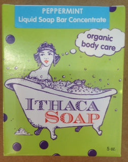 Liquid Soap Bar Concentrate Ⓡ Peppermint