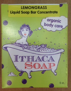 Liquid Soap Bar Concentrate Ⓡ  Lemongrass