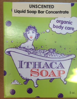 Liquid Soap Bar Concentrate Unscented
