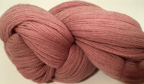 Patagonian 100% Merino Lace Dusty Rose