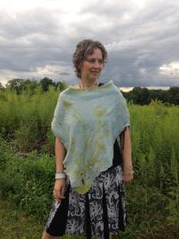 Queen Anne's Lace Poncho Sold